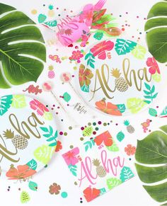 Planning a tropical, Hawaiian or summer party? Then we are your one stop shop! We have everything from tablewear to fancy dress to accessories. Why not head on over to our blog? You'll find loads of inspiration, party spotify playlists and recipies - all your party needs in one place!