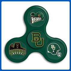 Baylor Bears Tri-Spinner Fidget Toy Hand Spinner Camouflage, Stress Reducer Relieve Anxiety And Boredom Camo - Fidget spinner (*Amazon Partner-Link)