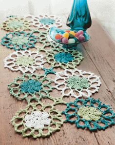 crochet table runner #crochet #table runner