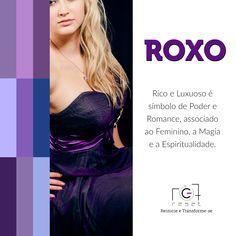 e53f026d91 Roxo é a cor da consciência e da inteligência. Claro ou escuro representa a  imaginação