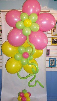 balloon centerpieces   balloon flower centerpiece