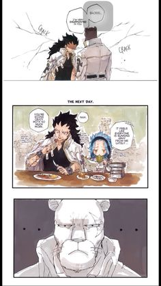 Adventures on the Council part 2 3/3 I have fun torturing Lily with their bs in my comics, forgive me. Levy's unit returned to normal the next day after she found out though. #Gajeel & #Levy