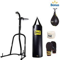 Everlast Dual Station Heavy Bag Stand with Kit and Speedbag Value Bundle for Sale Best Punching Bag, Heavy Punching Bag, Boxing Punching Bag, Mma Gloves, Boxing Gloves, Heavy Bag Stand, Mma Gym, Bag Hanger, Hangers