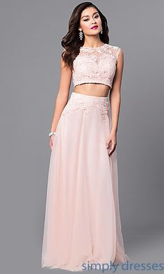 This dress is simple & the prettiest shade of pink.