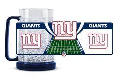 New York Giants Crystal Freezer Mug