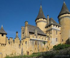 Château de Puymartin is a castle in the commune of Marquay, in the Dordogne département of France, located between Sarlat km) and Les Eyzies km) Chateau Medieval, Medieval Castle, Aquitaine, French Castles, Castle House, Interesting Buildings, Beautiful Castles, Famous Places, Romanesque