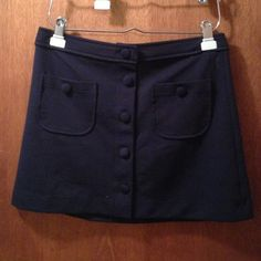 Gap Outlet Dresses & Skirts - Navy Blue mini knitted skirt. Size S. $20
