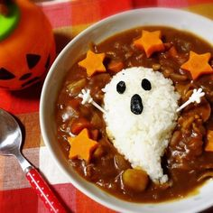 30 Delicious Art On Plate That Will Make You Hungry Bento Recipes, Baby Food Recipes, Cute Food, Good Food, Halloween Sweets, Halloween Dinner, Halloween Town, Helloween Party, Kawaii Cooking