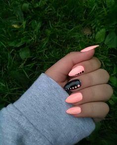 Nails only # nail polish design # sewing design … - Nail Art Classy Nails, Stylish Nails, Trendy Nails, Cute Nails, Simple Nails, Coffin Nails Matte, Dark Nails, Best Acrylic Nails, Nail Polish