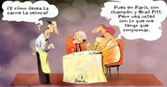 Garrincha parejas Brad Pitt | Caricaturas - Yahoo Noticias en Español