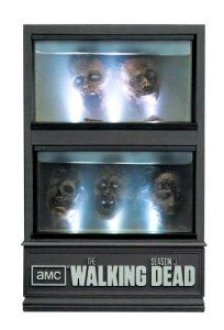 The Walking Dead Season 3 Limited Edition Blu-ray case. It lights up thanks to LEDs OF COURSE. Holy zombies, Batman, I really need this for my nerdtastic collection. Amc Walking Dead, Walking Dead Season, Zombies, Laurie Holden, David Morrissey, Sarah Wayne Callies, Blu Ray Movies, Zombie Movies, Chandler Riggs