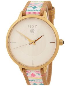 SURFSTITCH - WATCHES - WOMENS WATCHES - LEATHER WATCHES - ROXY AVENUE LEATHER WATCH - MULTI