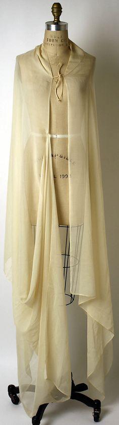 Wrap  Valentina  (American, born Russia, 1899–1989)  Date: late 1930s Culture: American Medium: silk