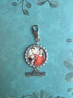 Supernatural Sam and Dean  Purse or Book Bag Clip, Zipper Pull or Key Chain $5.50