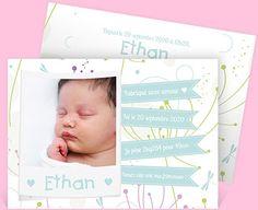 Faire-part naissance réf. N11129 chez monFairePart.com