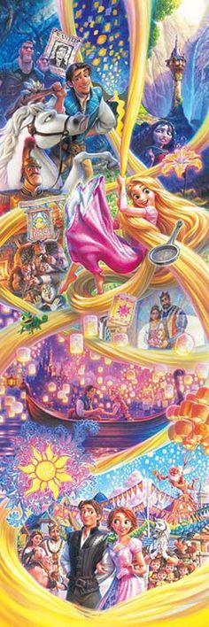 ディズニー ラプンツェル ストーリー(塔の上のラプンツェル) 456ピース 456-728