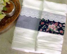Toalhas de Lavabo www.elo7.com.br/loui  #toalhasdelavabo#enxoval#casa