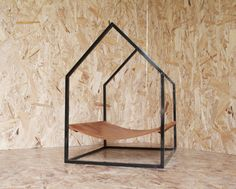 GO! PET DESIGN - HouseHAMMOCK | steel. leather. brass.