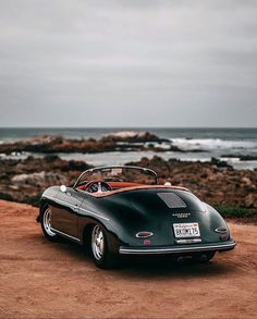 Wrapping up the series with 's gorgeous 356 Speedster for Porsche 365, Porsche 356 Speedster, Latest Mens Fashion, Men's Fashion, Top Gear, Gentleman Style, Carrera, Luxury Lifestyle, Bespoke