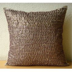 Metallic Magic  Throw Pillow Covers  16x16 by TheHomeCentric, $29.95