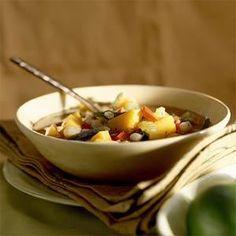 Mexican Butternut Squash Soup Recipe | MyRecipes.com