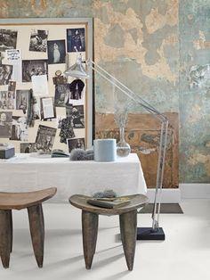 www.africaandbeyond.com. Senufo stools.