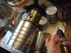 instructions for making the tin man part crafts, repurposing upcycling Tin Can Man, Tin Man, Mother Daughter Projects, Tin Can Crafts, Vbs Crafts, Creation Art, Man Parts, Scrap Metal Art, Diy Planters