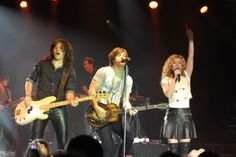 The Band Perry performing live at Fontainebleau during their #BleauLive show on October 13, 2013.   #Fontainebleau