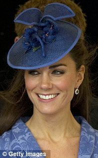 Duchess of Cambridge at a church service to mark Prince Philip's 90th birthday