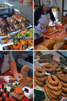 Stellenbosch Langsam Markt am Oude Libertas, Südafrika - von heneedsfood