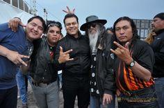 Nezahualcóyotl, Méx. 24 Abril 2013. El rock, uno de los distintos eventos organizados por el gobierno que encabeza Juan Zepeda,  en el marco del Cincuentenario de Neza.