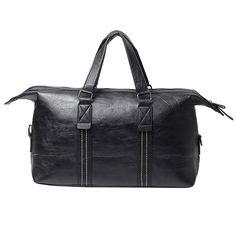 47.00$  Watch now - http://alik9i.worldwells.pw/go.php?t=32739328099 - 2016 Female Big Single Shoulder Bag/ High Quality PU Leather Women Handbags/ Larg Capacity Ladies Casual Travel Tote Bags Black