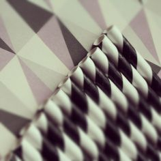 http://partydesign.no #sugerør #papirsugerør #partydesign #paperstraws #pattern #retro