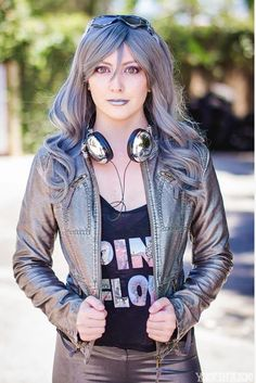 Awesome Lady Quicksilver Cosplay
