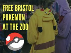 Free Bristol // Pokemon Hunting at the Zoo // Alternative Adventurers