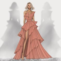Dress Design Drawing, Dress Design Sketches, Fashion Design Sketchbook, Fashion Design Drawings, Art Sketchbook, Fashion Model Sketch, Fashion Sketches, Fashion Models, Fashion Illustration Poses