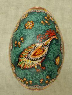 Ukraine Pysanka by Oleh K , GOOSE Easter egg / Hutsul, Pysanky, Ukrainian | eBay