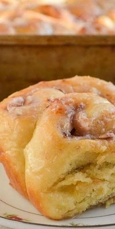 Sweetheart Rolls - Soft orange brioche dough filled with strawberries and cream cheese, baked, and drizzled with a sweet glaze. Dessert Bread, Dessert Recipes, Desserts, Bread Bun, Sticky Buns, Cream Cheese Filling, Strawberries And Cream, Breakfast Dishes, Sugar And Spice