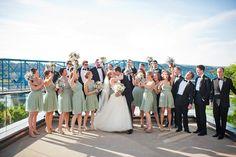 fun bridal party :) | Tim Will #wedding