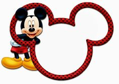 Precious Mickey and Minnie Heads. Right click and save as Mickey Mouse Images, Mickey Mouse Head, Mickey Mouse Parties, Mickey Party, Mickey Mouse And Friends, Mickey Mouse Birthday Invitations, Theme Mickey, Mickey Birthday, Mickey E Minie