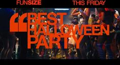 Fun Size : TV Spot Best Party Fun Size, Best Part Of Me, Halloween Party, How To Plan, Tv, Television Set, Television