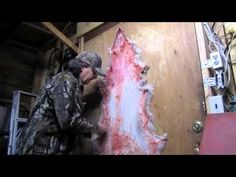 Fur tanning without chemicals, pt. 1 The bushcraft or Woodsmans method. - YouTube