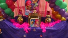 Shimmer and Shine Birthday Party Ideas | Photo 4 of 9