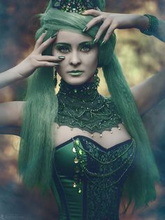 """Green Fairy by Tomasz Staśko """"TheMadHatter"""" on 500px"""