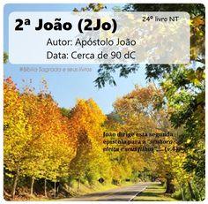 Bíblia Sagrada e seus livros: JOÃO 2 - Autor e Data (2Jo)