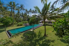 Luxury Villa with infinity pool offers ocean views, as the beautiful tropical garden, setting on Bali's south-east coast with expert staff,services included