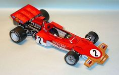 F1 Paper Model - Lotus 72D  1:24 Scale Free Template Download