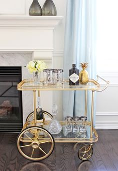 5 Stunning Ways To Style Your Bar Cart