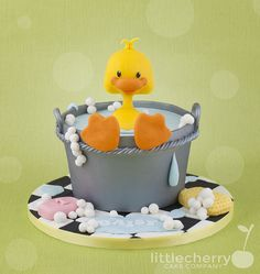 Ducky Bath | by Little Cherry Cake Company