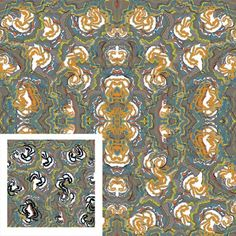 Floret Bloom | Make It In Design | Surface Pattern Design | Summer School 2015 | Eco Active Organic Decay | Intermediate Creative Brief